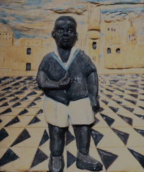 Le garçon de Venise bas-relief . 2017