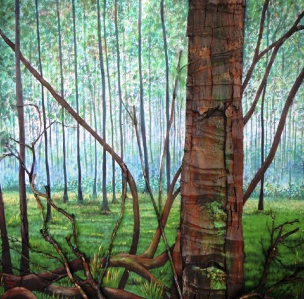 Lenuel Symphonie des Bois 2015 100 X 100