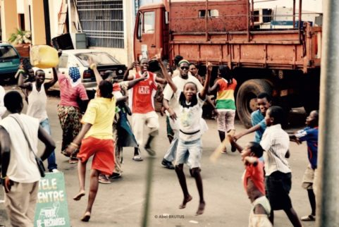 """Goal !"" . 2008 . African Elections Series"
