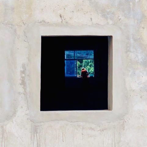 """""""Gardien du Temple"""" . 2018 . Voyeur Series"""