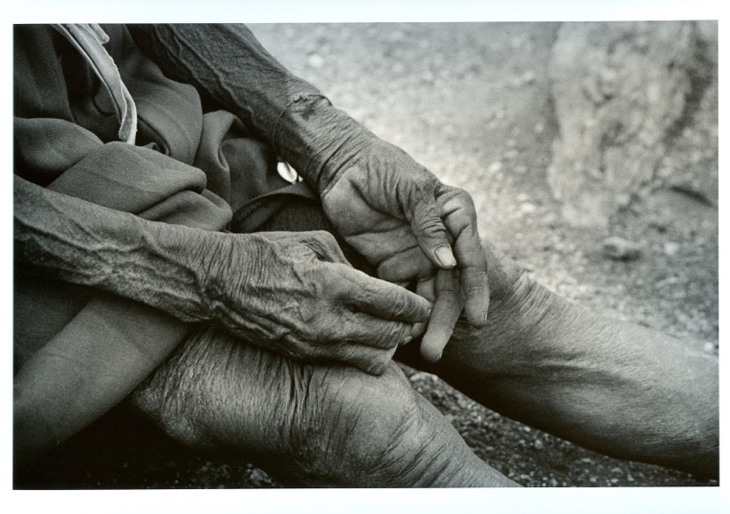 Pays Lamba tirage argentique noir et blanc 2006